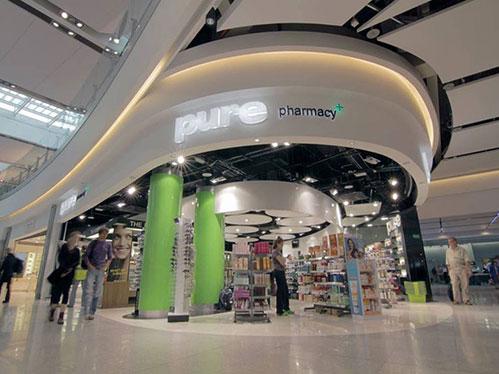 pharmacy interior fitout