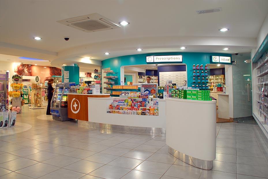 Pharmacy Shopfitters Ireland