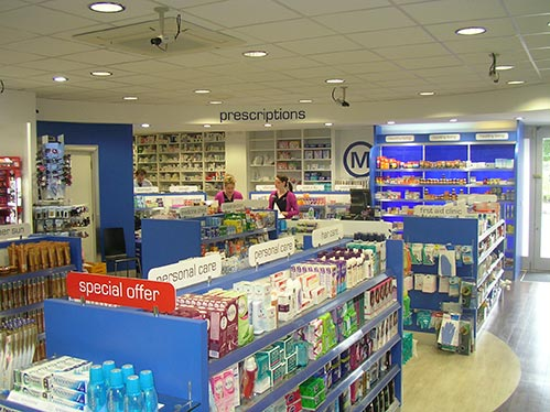 Pharmacy Shopfitters - Ireland