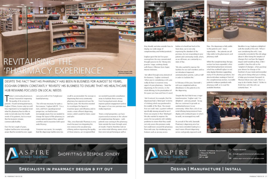 pharmacy design and build